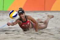 """<p>Beach volleyball player April Ross has <a href=""""https://www.teamusa.org/usa-volleyball/athletes/April-Ross"""" class=""""link rapid-noclick-resp"""" rel=""""nofollow noopener"""" target=""""_blank"""" data-ylk=""""slk:medaled in two straight Olympics"""">medaled in two straight Olympics</a>, but off the court, she's <a href=""""http://aprilrossbeach.com/advocacy/"""" class=""""link rapid-noclick-resp"""" rel=""""nofollow noopener"""" target=""""_blank"""" data-ylk=""""slk:an advocate for several causes"""">an advocate for several causes</a> that are close to her heart, including <a href=""""https://kidsplayintl.org/april-ross/"""" class=""""link rapid-noclick-resp"""" rel=""""nofollow noopener"""" target=""""_blank"""" data-ylk=""""slk:Kids Play International"""">Kids Play International</a>, an organization that promotes gender equity through sport in countries that have been impacted by genocide.</p>"""
