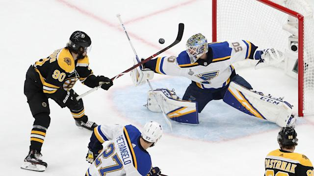 Jordan Binnington was the star as the St Louis Blues overcame the Boston Bruins in the Stanley Cup Final.