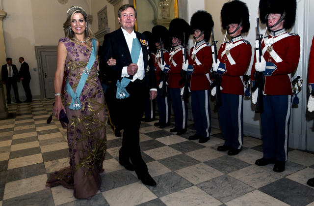 Queen Máxima with her husband, King Willem-Alexander of the Netherlands (Photo: Getty) <span> </span>