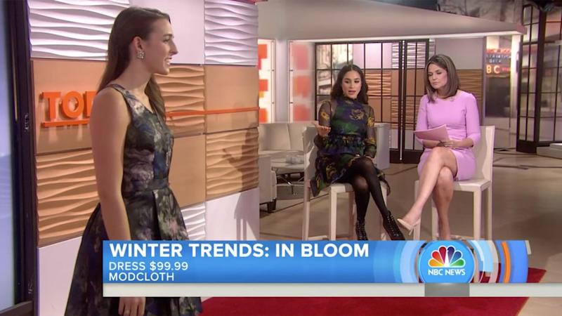 Meghan Markle appears as style correspondent on <em>Today</em> in 2016