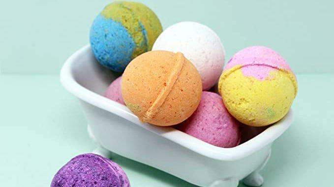 Treat yourself to a little TLC with these discounted bath bombs.