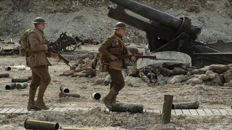 Sir Sam Mendes' WW1 thriller was a crowd-pleasing, award-winning triumph and UK box office hit, and people just couldn't get enough of it during awards season and beyond.