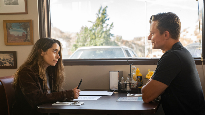 Cristin Milioti and Billy Magnussen in Made For Love