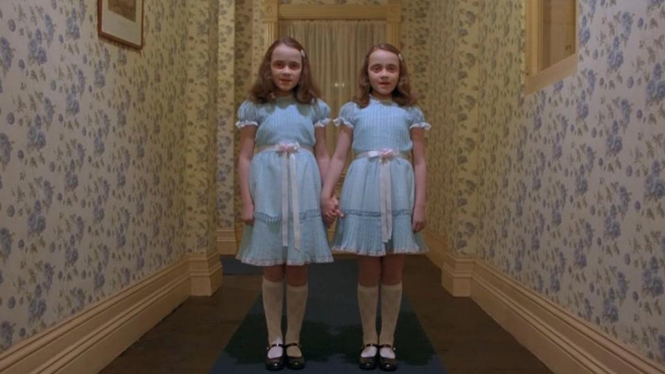 The Grady Girls in 'The Shining'. (Credit: Warner Bros)
