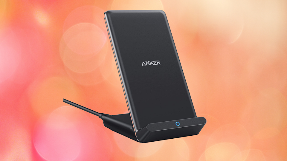 Save 20 percent on this awesome wireless charging stand! (Photo: Anker)