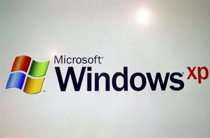 Microsoft no longer offers support for Windows XP (Picture: Rex)