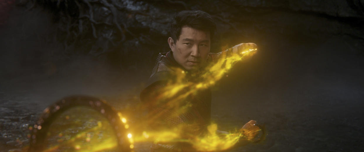 Shang-Chi (Simu Liu) in Marvel Studios' SHANG-CHI AND THE LEGEND OF THE TEN RINGS. Photo courtesy of Marvel Studios. ©Marvel Studios 2021.
