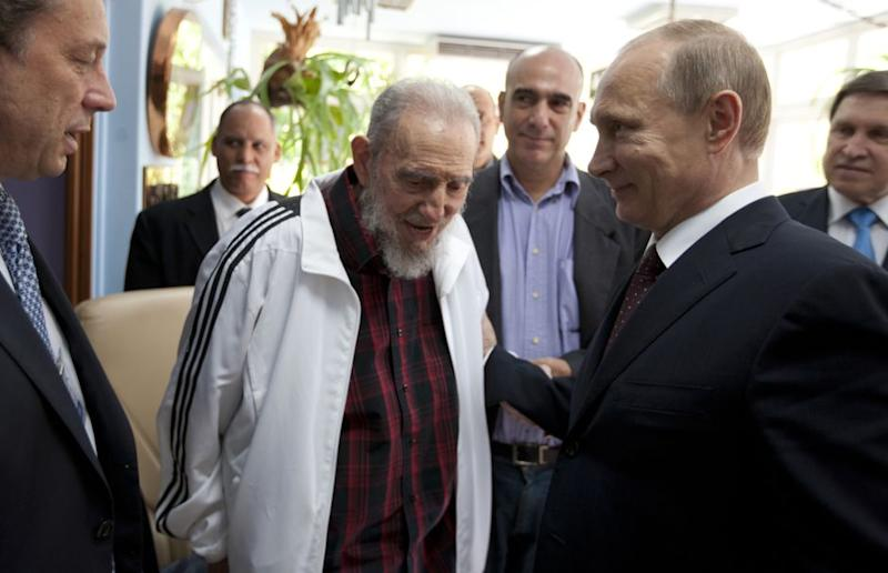 Fidel Castro: A life in tracksuits