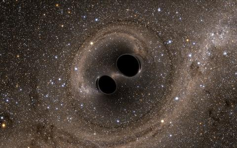 The black hole at the centre of the Milky Way could increase tenfold, flinging the Solar System out into intergalactic space - Credit: Barcroft Media