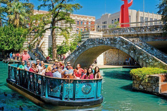 "<p><strong><a href=""https://www.viator.com/tours/San-Antonio/San-Antonio-River-Walk-Cruise-Hop-On-Hop-Off-Tour-and-Tower-of-the-Americas-Package/d910-10152P3"" rel=""nofollow noopener"" target=""_blank"" data-ylk=""slk:San Antonio River Walk Cruise, Hop-On Hop-Off Bus Tour and Tower of the Americas"" class=""link rapid-noclick-resp"">San Antonio River Walk Cruise, Hop-On Hop-Off Bus Tour and Tower of the Americas</a></strong></p><p><strong>San Antonio, Texas</strong></p><p>This popular tour allows you to see almost all of what San Antonio has to offer. It starts off with a boat cruise on the San Antonio River, where you can relax and enjoy the sights. Afterwards, you'll head onto a hop-on, hop-off, double-decker bus tour so you can check out the city and stop wherever you want. It ends with a view of Alamo City from the top of the Tower of the Americas. It truly has it all! </p>"