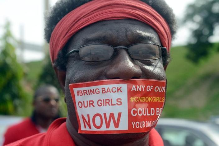 #BringBackOurGirls brought protesters out around the world but after two years it risks becoming another example of the limited influence of online protest (AFP Photo/Pius Utomi Ekpei)