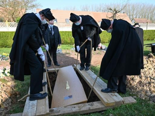 The Charitable Brotherhood of Saint-Eloi de Bethune have been burying the destitute more than 800 years