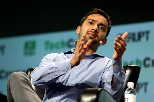 Apoorva Mehta, CEO of Instacart speaks during 2016 TechCrunch Disrupt in San Francisco, California, U.S. REUTERS/Beck Diefenbach/File Photo