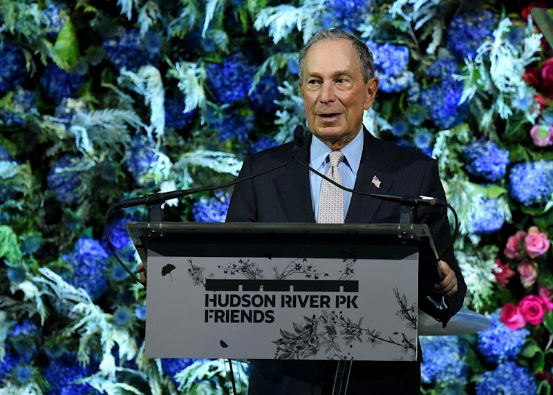 Mr Bloomberg could possibly make life harder for Joe Biden: Getty
