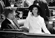 """<p>A week after John's death, Jackie sat down for an <a href=""""http://www.history.com/news/10-things-you-may-not-know-about-jacqueline-kennedy-onassis"""" rel=""""nofollow noopener"""" target=""""_blank"""" data-ylk=""""slk:interview"""" class=""""link rapid-noclick-resp"""">interview</a> with <em>Life</em>, during which she spoke of John's love for the musical, """"Camelot."""" Jackie said of her husband's presidency, """"There will be great presidents again, but there will never be another Camelot."""" The name stuck, and from then on, the Kennedy administration was constantly referred to as """"Camelot."""" </p>"""
