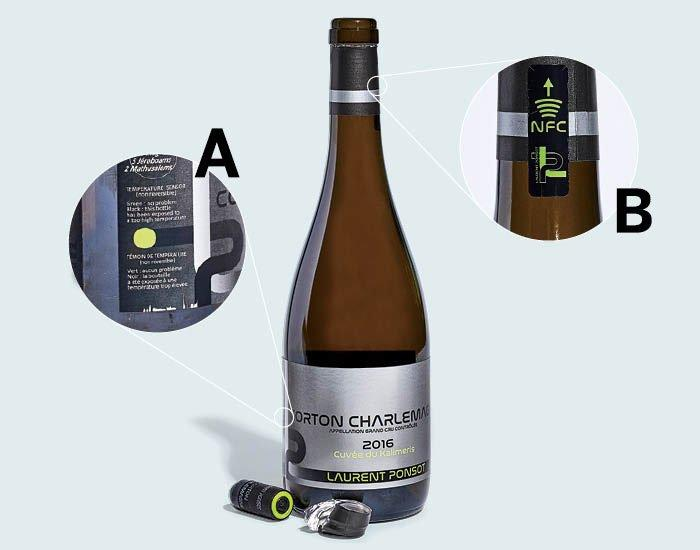 This High-Tech Wine Bottle Fights Fraud