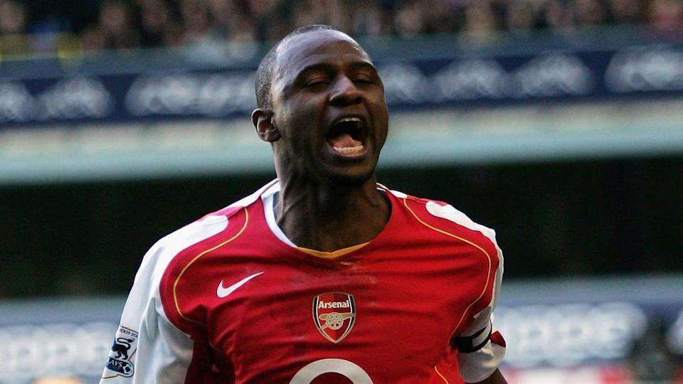 Patrick Vieira ai tempi dell'Arsenal | Ian Walton/Getty Images