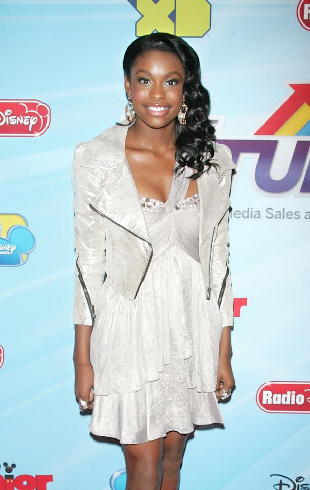"Coco Jones (""<a href=""http://tv.yahoo.com/let-it-shine/show/48277/"">Let It Shine</a>"") attends the 2012-13 Disney Channel Worldwide Kids Upfront event at the Hard  Rock Cafe: Times Square on March 13, 2012 in New York City."