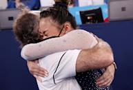 <p>Team USA's Sunisa Lee wins the gold medal in the Women's All-Around Final at Ariake Gymnastics Centre on July 29.</p>