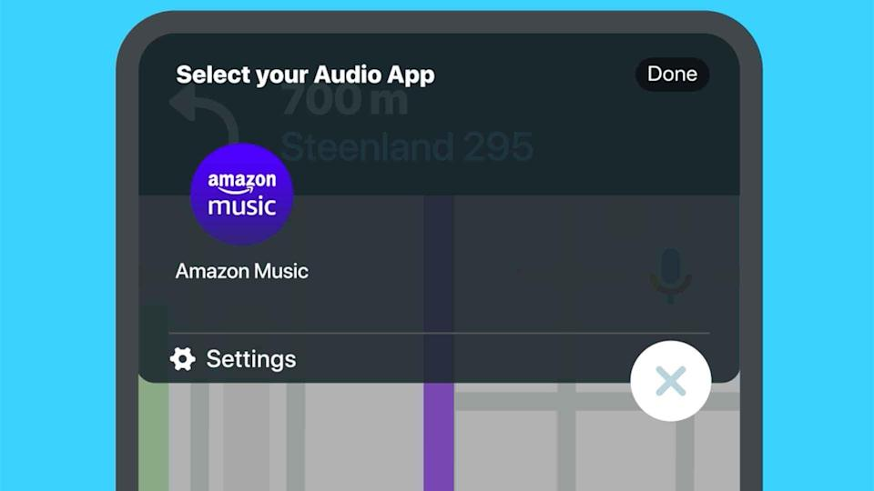 How to use Waze Audio Player
