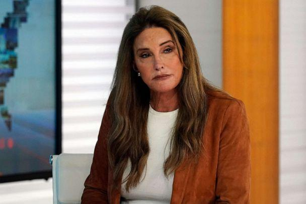 PHOTO: In this May 26, 2021, file photo, Caitlyn Jenner, a Republican candidate for California governor, is interviewed in New York. (Richard Drew/AP, FILE)