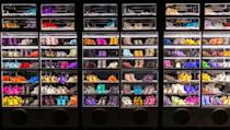 Hundreds of Prince's custom-made shoes are part of a special exhibition at Paisley Park, the late singer's home and studio