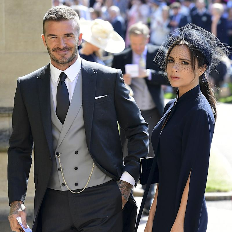 Victoria Beckham Was Happy Not to Be Pregnant at Prince Harry and Meghan Markle's Royal Wedding