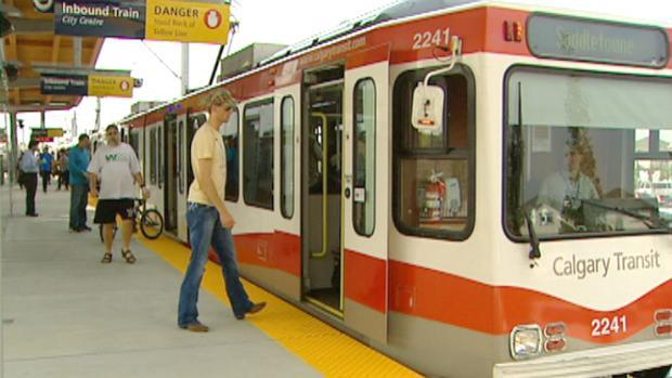 C-Train users can now access the renovated Chinook station.