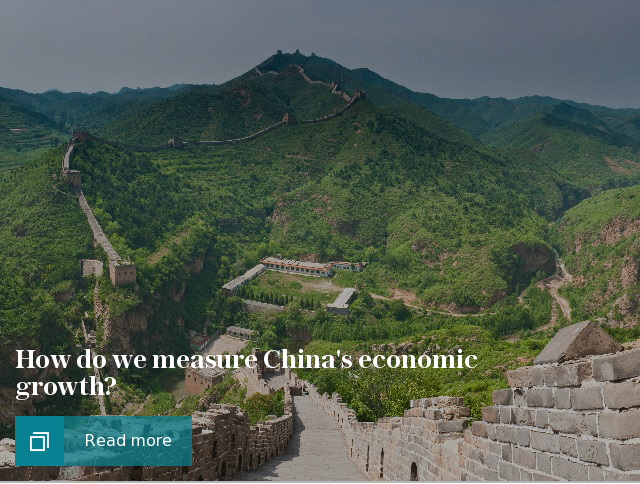 puff: How do we measure China's economic growth?