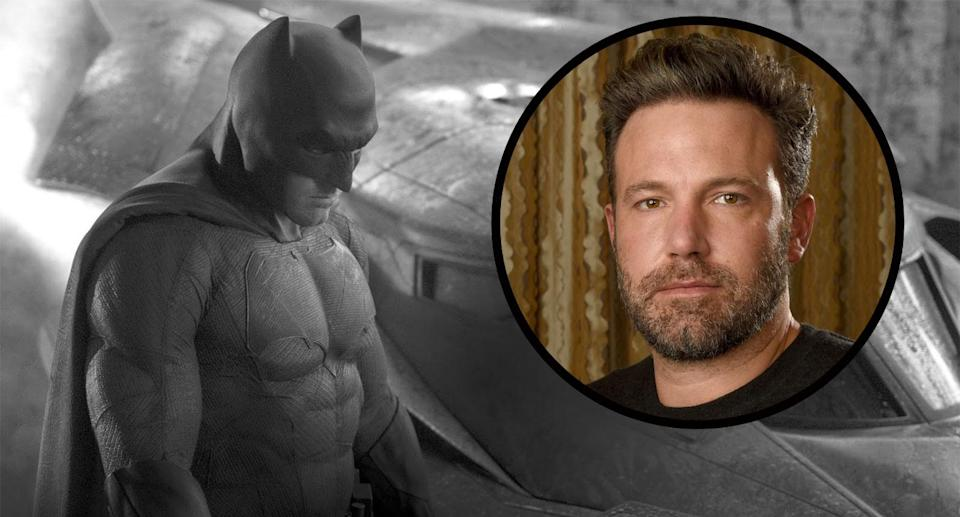 Affleck recently told his son Samuel that he was hanging up the cowl. (WB/AP)