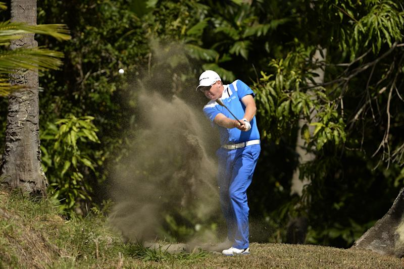 Golf - Jeffress, Higginbottom lead Fiji International