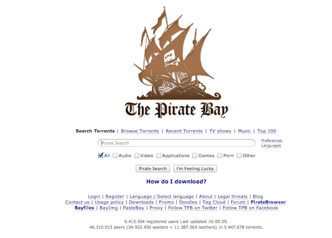 The Internet Reacts To The Pirate Bay's Sinking