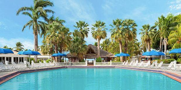 Breakfast-included 4-night-stay at the Holiday Beach Resort & Casino. Travel dates: March through September. <span>Visit the deal</span>.