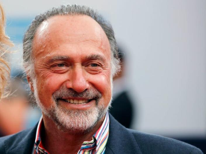 """French politician Olivier Dassault arrives for the screening of the film """"Drive"""" during the 37th American Film Festival in Deauville"""