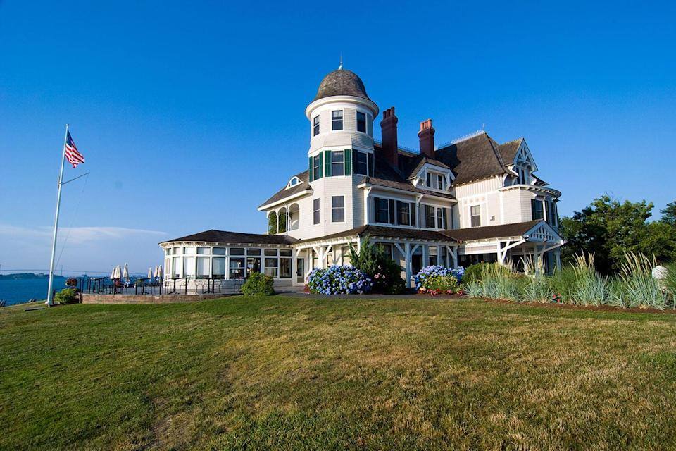 "<p>Everyone out on the Newport harbor squints at this oceanside hotel with envy as they sail or motor past. The Victorian mansion boasts gorgeous 19th-century architecture and a sprawling lawn dotted with white Adirondack chairs, often filled with guests, rosé in hand.<br></p><p><strong>EXPLORE NOW:</strong> <a href=""https://www.tripadvisor.com/Hotel_Review-g60978-d114213-Reviews-Castle_Hill_Inn-Newport_Rhode_Island.html"" rel=""nofollow noopener"" target=""_blank"" data-ylk=""slk:Castle Hill Inn"" class=""link rapid-noclick-resp"">Castle Hill Inn</a></p><p><em>Image via: <a href=""https://www.flickr.com/photos/henrychen/2827441680/"" rel=""nofollow noopener"" target=""_blank"" data-ylk=""slk:HENRY CHEN"" class=""link rapid-noclick-resp"">HENRY CHEN</a>/Flickr</em></p>"