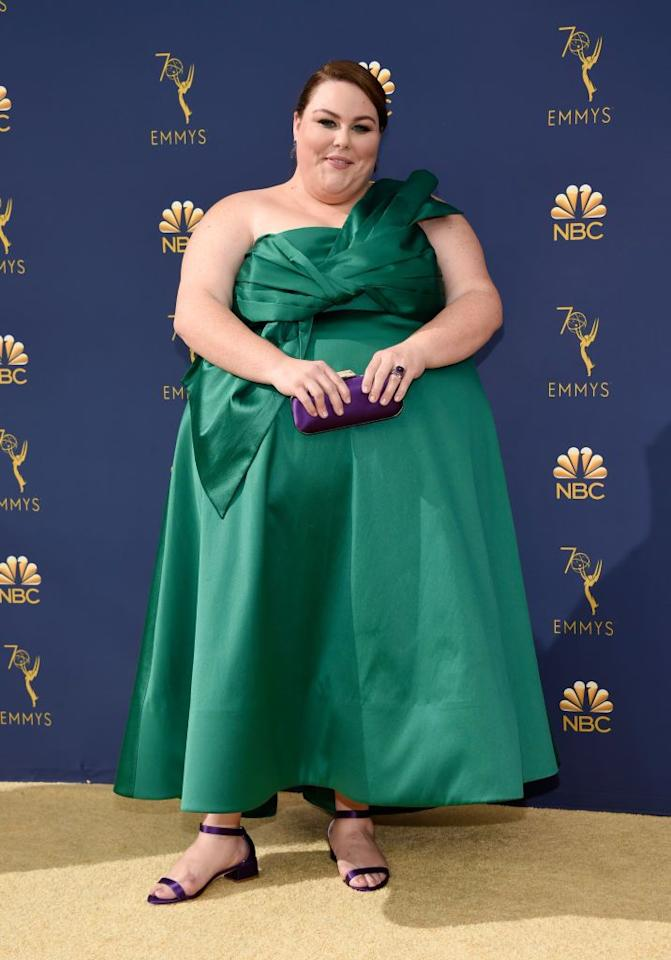 "<p><a rel=""nofollow"" href=""https://www.goodhousekeeping.com/beauty/fashion/a20767281/chrissy-metz-dress-billboard-music-awards/"">Let's hear it for Chrissy</a> and her incredible emerald gown by John Paul Ataker. </p>"
