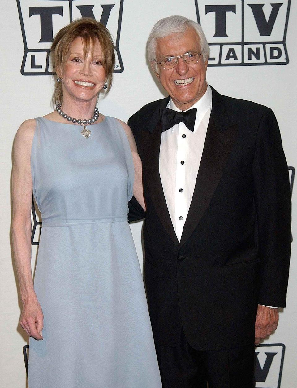 <p>Moore and Van Dyke attend the TV Land Awards.</p>