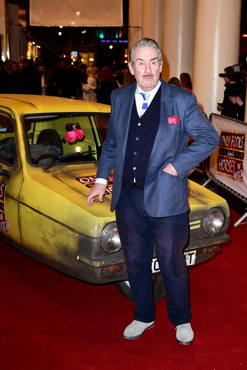 John Challis played the role of Boycie in Only Fools and Horses (PA)