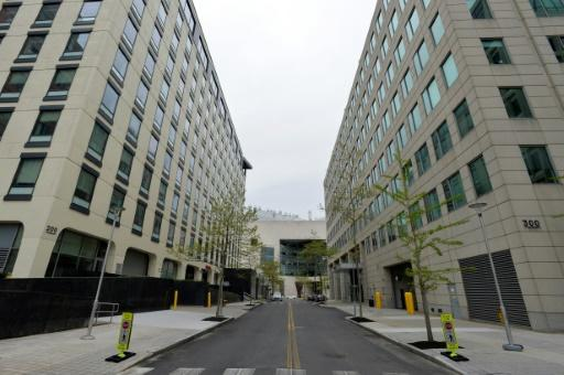 Moderna, whose headquarters are seen here in Cambridge, Massachusetts, is 'temporally ahead' in the vaccine race, Fauci said
