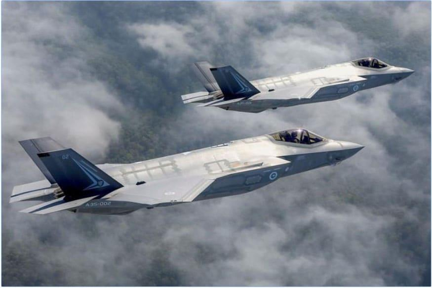 Martin Corp F-35 stealth fighter. (Image Credits: Reuters)