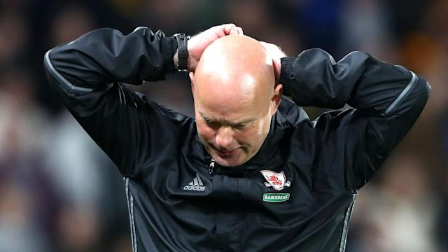 Steve Agnew has acknowledged Middlesbrough's chances of staying in the Premier League are slim after their 4-2 defeat to Hull City.