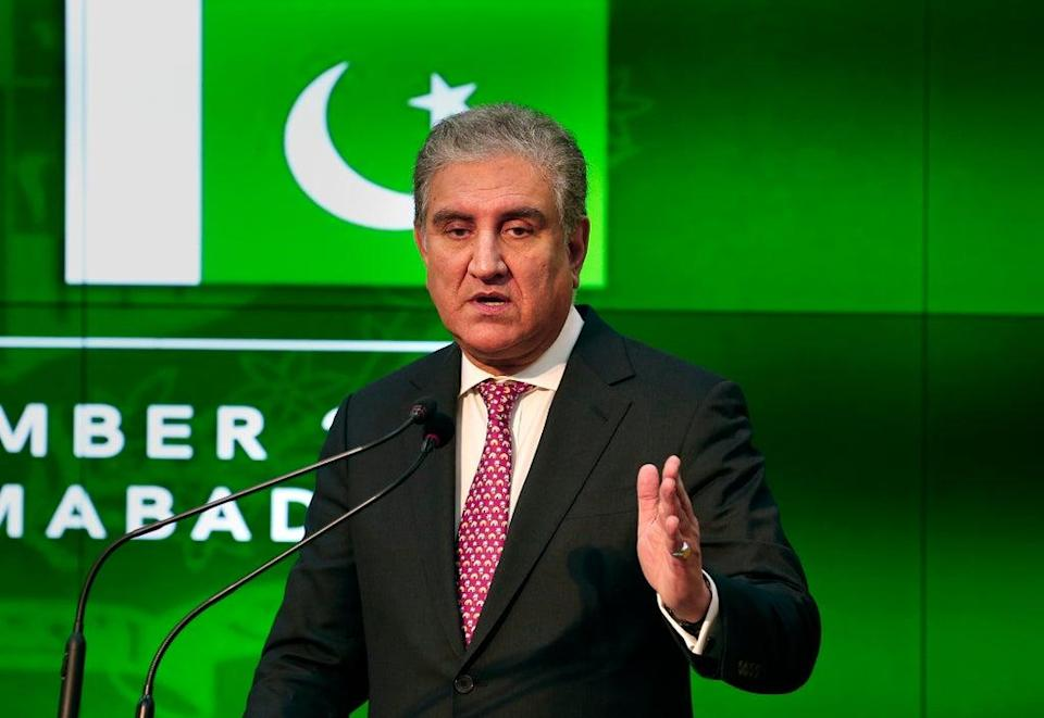 Pakistan's foreign minister has told The Independent the country won't take in any more refugees (AP)