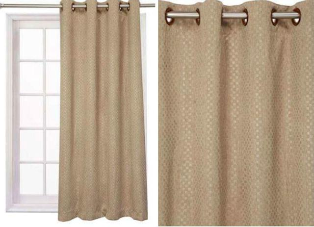 "<a href=""https://fave.co/3cVGIGH"" rel=""nofollow noopener"" target=""_blank"" data-ylk=""slk:BUY HERE"" class=""link rapid-noclick-resp"">BUY HERE</a> Self printed eyelet window curtain, from Shoppers' Stop, for a discounted price of Rs. 999"