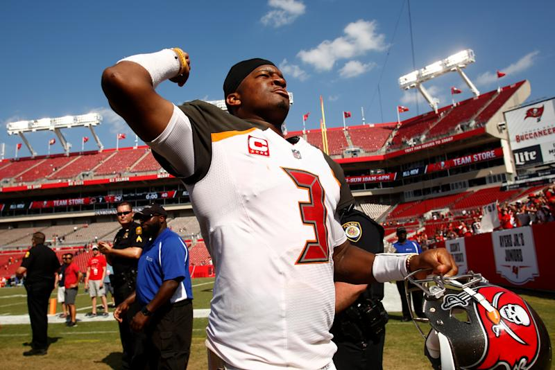 The lawyer who once squared off with Tampa Bay quarterback Jameis Winston has reemerged in a case involving an alleged groping incident in an Uber ride. (Getty Images)