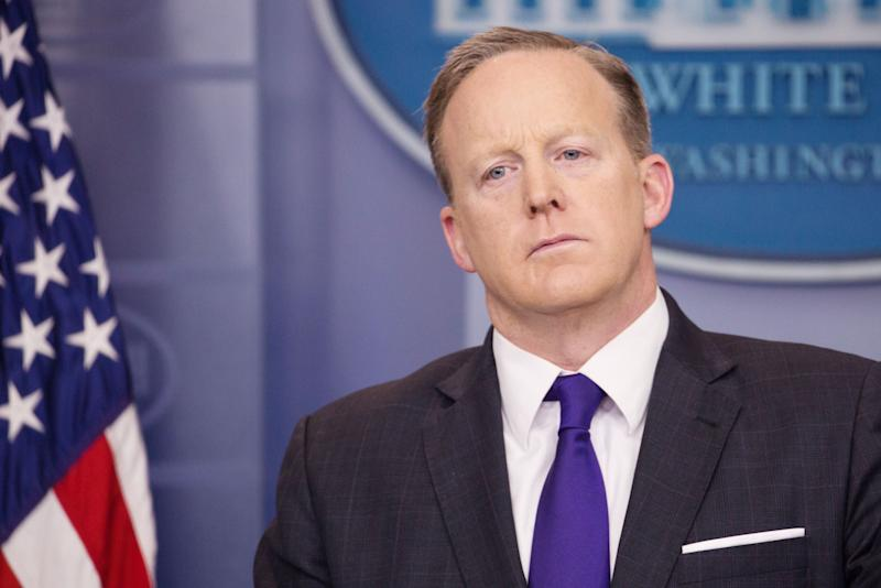 Sean Spicer Conveniently Asleep by Midnight Every Saturday