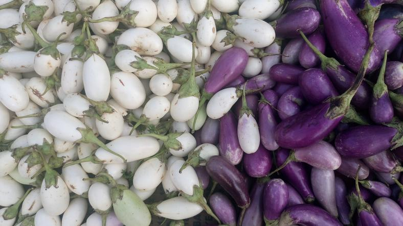 <p>The humble brinjal, also called eggplant or aubergine, is native to the Indian sub continent. The Sanskrit name for brinjal is 'vatinganah', which became Badinjana, when it travelled to Persia. The Arabs then took it to the west, where the French called it 'Aubergine' – a name that the English use as well. Back home, the original 'vatinganah' became Brinjal, and the name is used in South Africa and the West Indies, as well. <br />Used in various India cuisines, the brinjal is loaded with fiber and nutrients such as potassium, vitamin C, vitamin-B6 and phytonutrients which protect the brain cells from damage, and preserve the memory function. The vegetable also has a high water content and so is ideal for people looking to lose weight. </p>