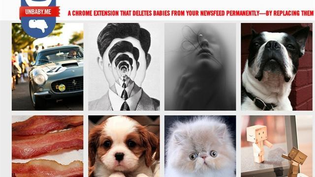 This new plug-in replaces pictures of babies with pictures of cats, movie stars, or anything else you might rather see. Some Facebook users love it, while others are angry. The three creators of UnbabyMe speak with CBSNews.com's Chenda Ngak.