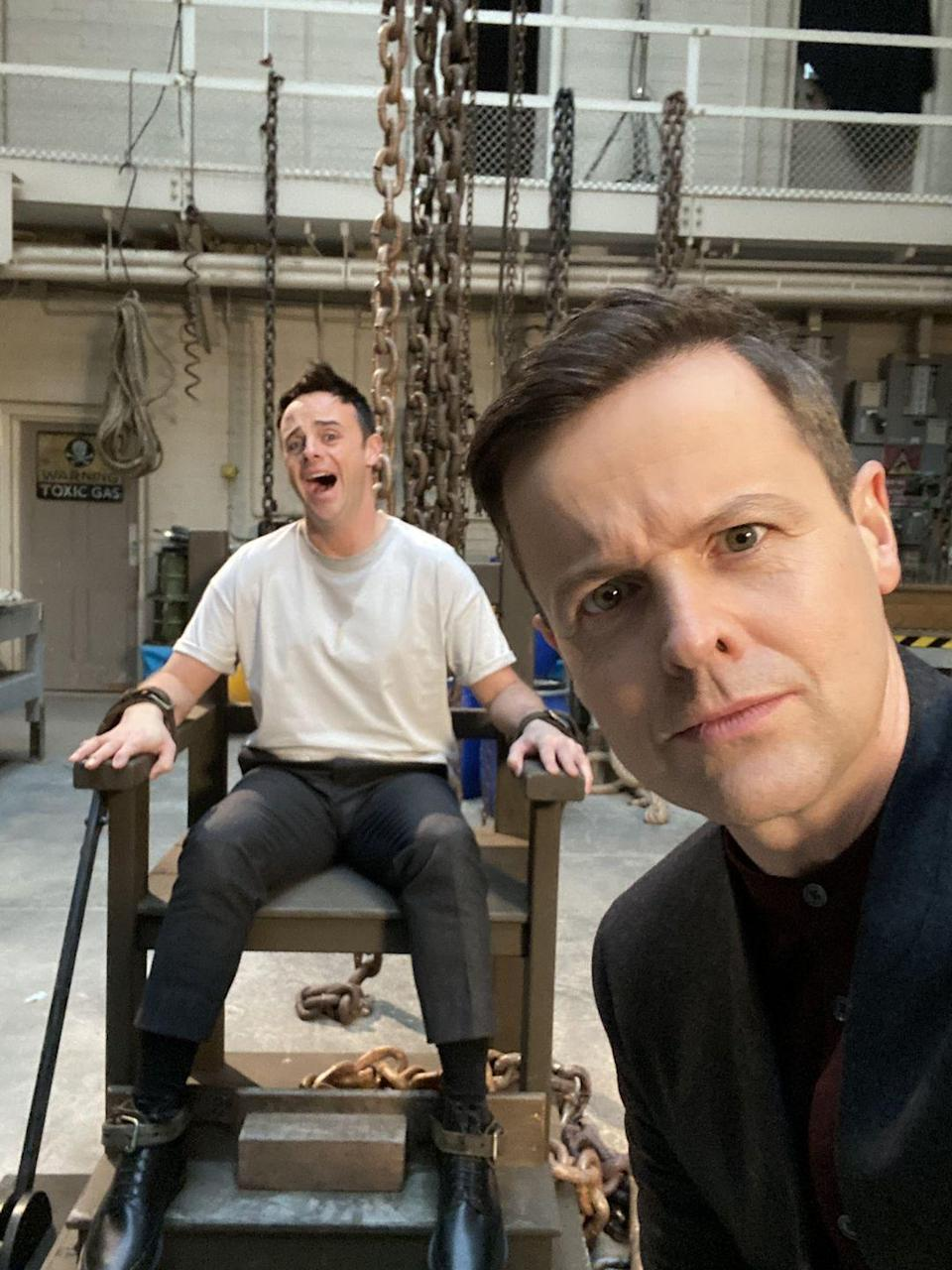 Photo credit: Ant and Dec - Twitter