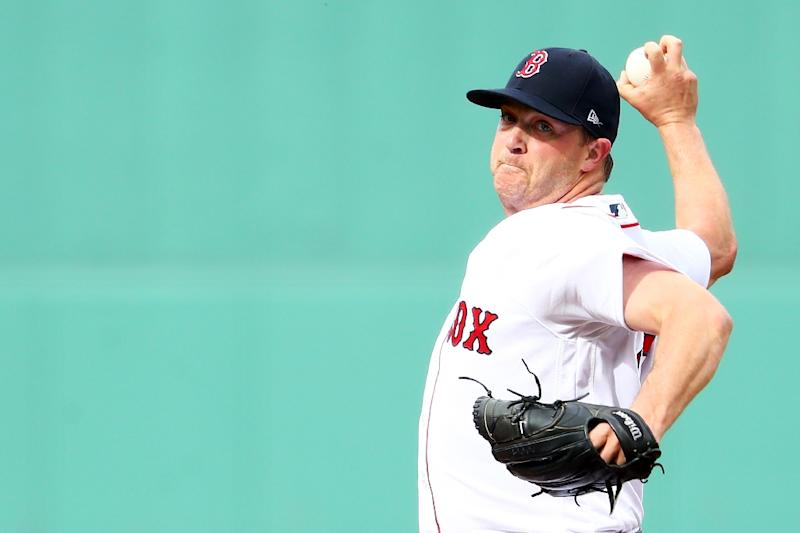 Former Rainbow, Red Sox pitcher Wright suspended for domestic-violence policy violation