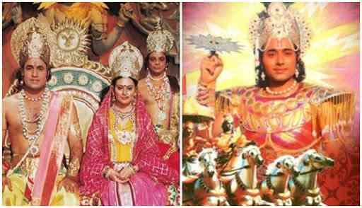 Nostalgia-invoking reruns of Mahabharata and Ramayana served as positive reinforcements